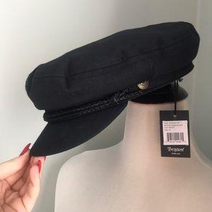 Brixton Fiddler Cap Hat Black Size M